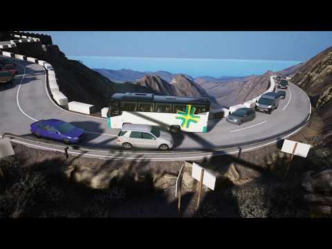 Tourist Bus Simulator - Über die Serpentinen von Fuerteventura - VDL Futura - FHD2 106 - Trackhat |
