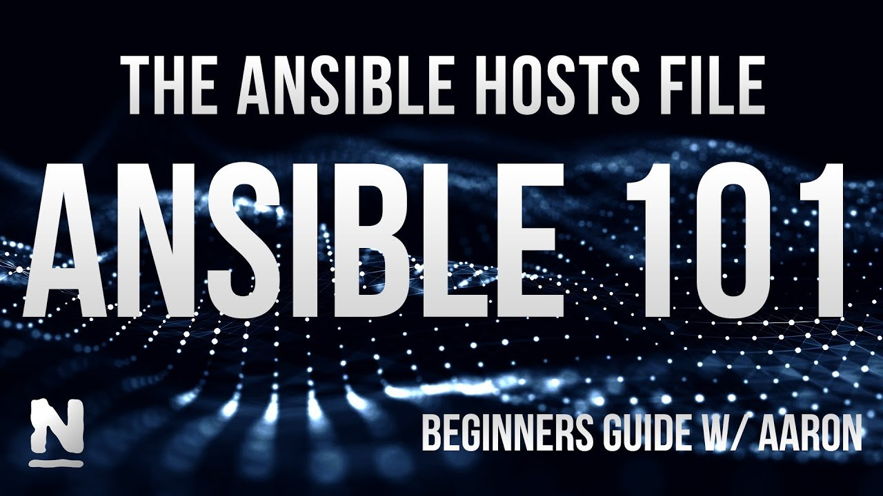 How to use the Ansible hosts file (part 3/5)