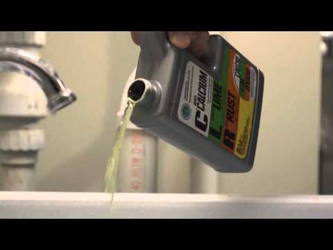 How to clean your humidifier filter with CLR Calcium, Lime & Rust Remover