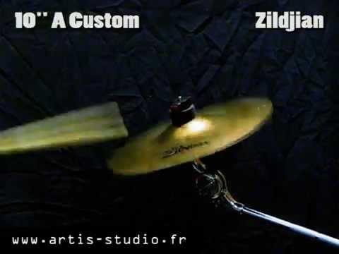 "Zildjian A custom splash 10"" cymbal"
