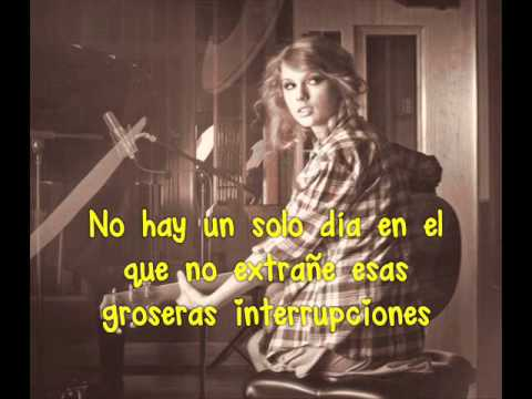 Taylor Swift - Last Kiss | Traducida Al Español