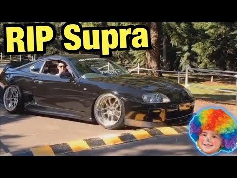 Did An Insta-Clown Ruin This Supra?!? (Instagram Car Fails)
