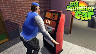 My Summer Car - STEALING SLOT MACHINE