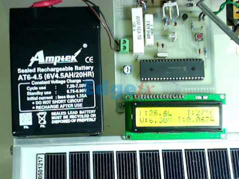 Solar Energy Measurement System | Projects for Engineering Students