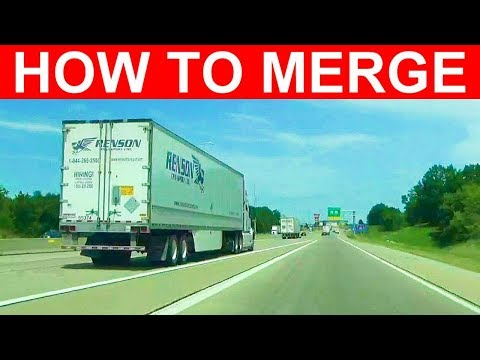 how-to-merge-the-safe-way-onto-an-interstate,-highway,-or-road---learn-to-merge-into-traffic