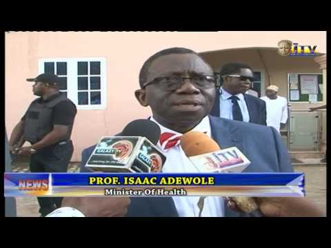 Minister Of Health Prof. Isaac Adewole Commend Outgoing CMD, UBTH