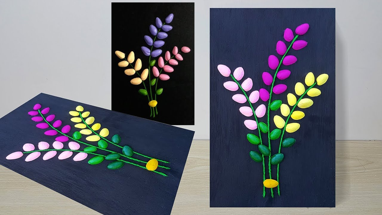 Diy Wall Decor Idea From Waste Materials Wall Hanging