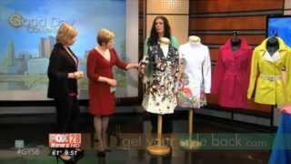 Kimberly's Spring Coats & Totes Tour continues on Good Day Columbus Thumbnail