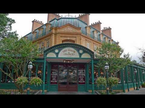 Epcot Bistro De Paris - area music loop (1/7)