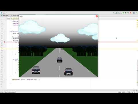 Simple Race Game Using JavaFX