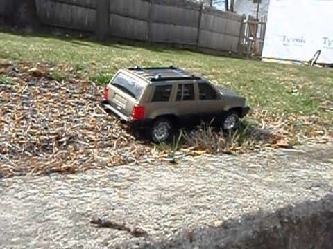 Mini R/C Jeep Grand Cherokee with Custom Paint Job II ...