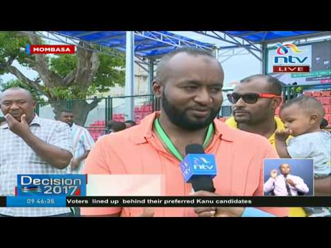 Mombasa Governor Hassan Joho details his voting experience