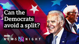 Super Tuesday: Joe Biden takes Democratic lead and Bernie Sanders takes California  - BBC Newsnight