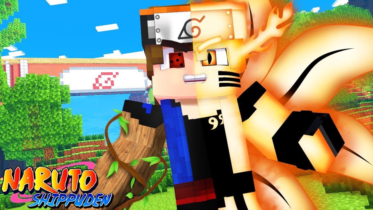 Minecraft : NARUTO GENKAI - O PODER DA KURAMA LIBERADO ! EP 19