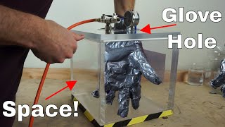 Could You Make a Space Suit Out of Duct Tape? Wearing a Duct Tape Glove in a Vacuum Chamber!