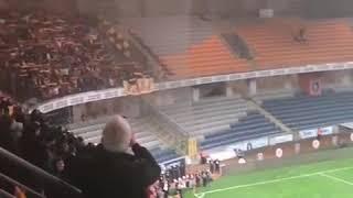 Video 161 | Başakşehir 0-2 Göztepe galibiyeti sonrası Sarı Kırmızılılar ve İsyan Marşı🔥