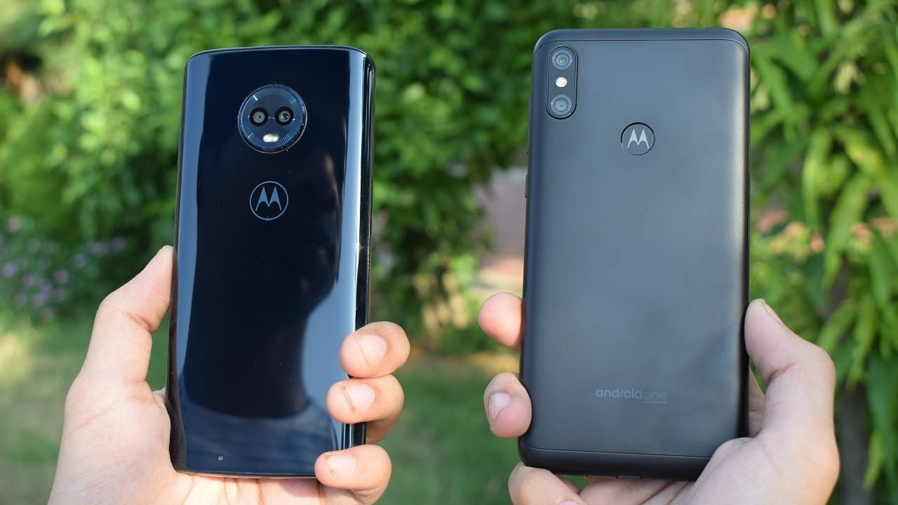 Compare: Motorola Moto G6 (4GB RAM, 64GB) vs Motorola One