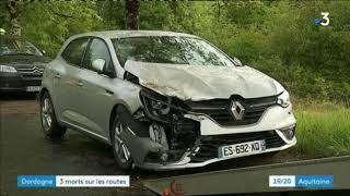 Accident doublement mortel en Dordogne le 30 mai : rappel des faits