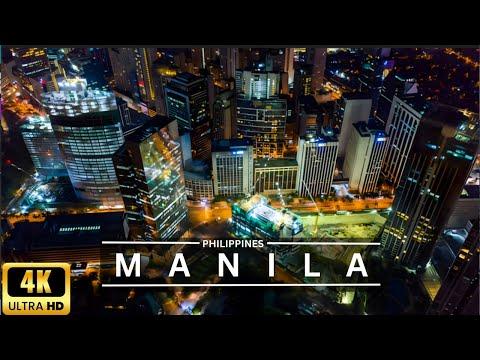 Manila Philippines City Tour Ultra HD - Manila City Philippines - Manila City Drone