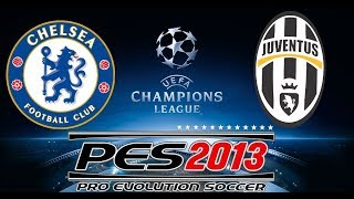 Sports Gameplays #03 - PES 2013 (Wii) - UEFA CHAMPIONS: CHELSEA vs JUVENTUS