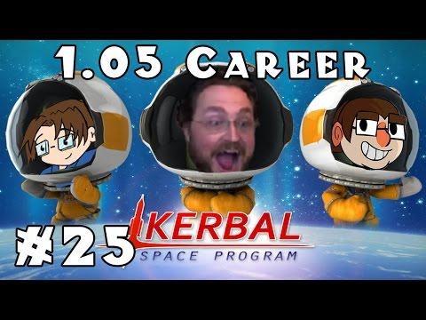 Minmus Biome Scan + Future Plans | Kerbal Space Program | 1.05 Career! -- Ep #25