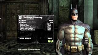 Arkham City - Blind Justice 72,395