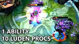 2 LUDEN PROCS per SECOND! 1 Shots with 1 Ability! (Bug)