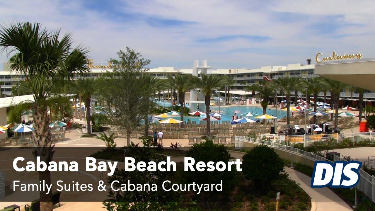 Cabana Bay Beach Resort Family Suites Courtyard