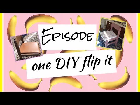Furniture restoration DIY Flip it (Fleamarket fine )follow me around