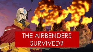 EXPLAINED: Did any Airbenders survive the Air Nomad Genocide? [Avatar the Last Airbender/Korra]