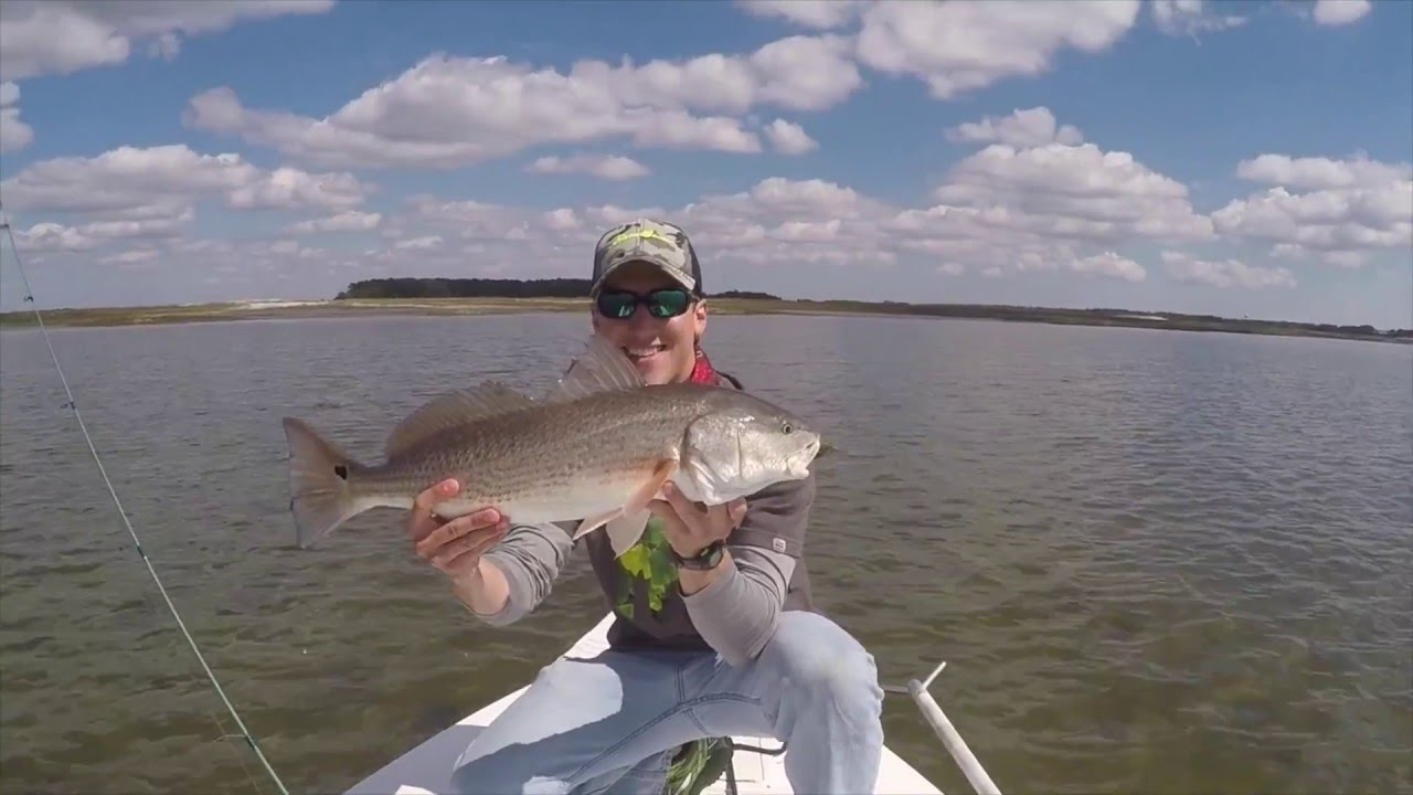 Fishing the broad river beaufort county sc youtube for Beaufort sc fishing