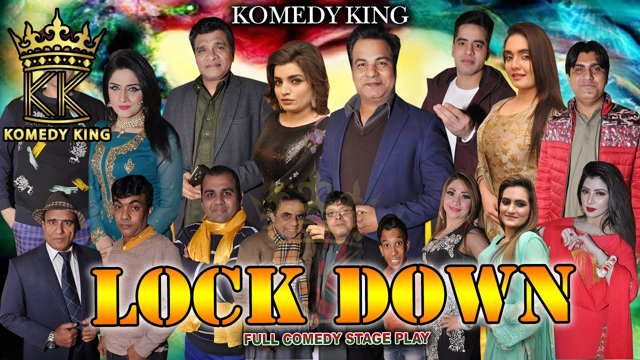 Lock Down Full New Stage Drama | Raima Khan | Nawaz Anjum | Saqi Khan Comedy - KOMEDY KING 2020