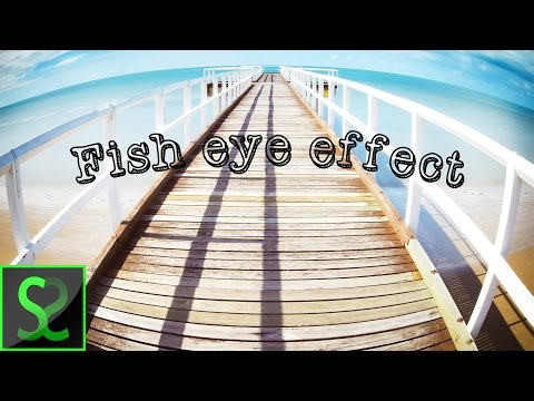How To Do Fisheye Camera Lens Effect In Photoshop | Photoshop Tutorial