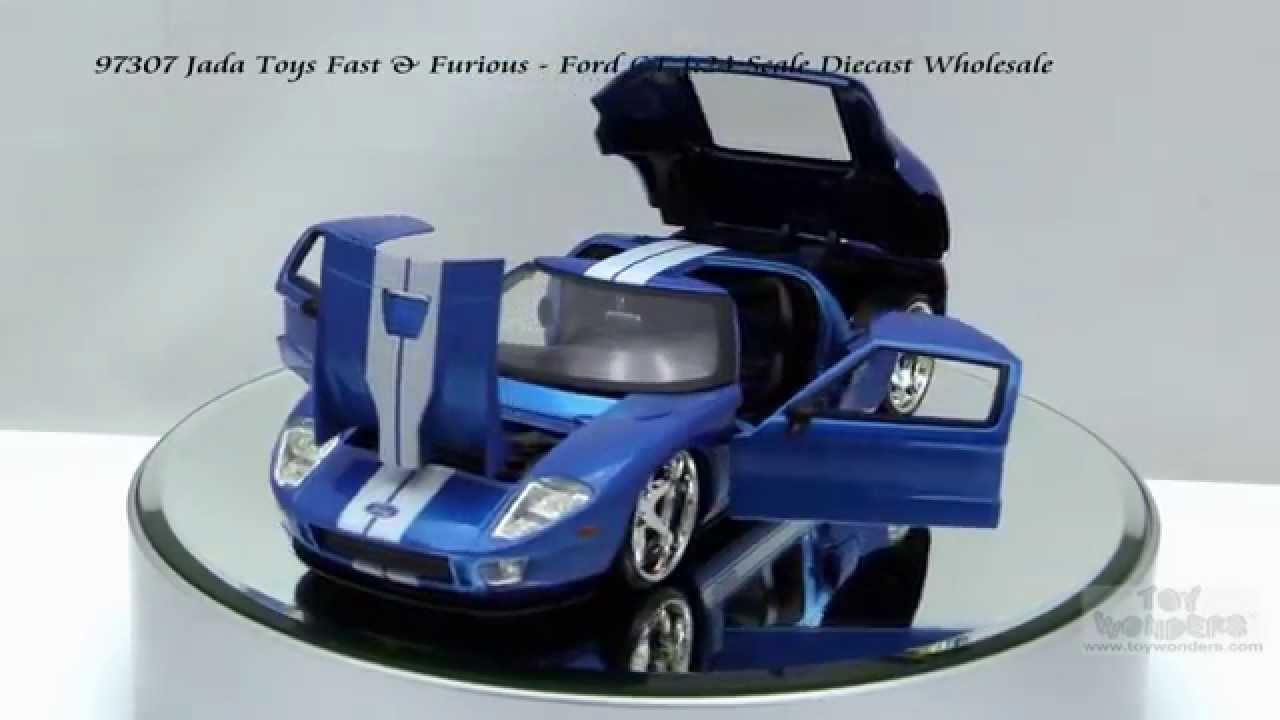 Jada Toys Fast Furious Ford Gt   Scalecast Wholesale Youtube