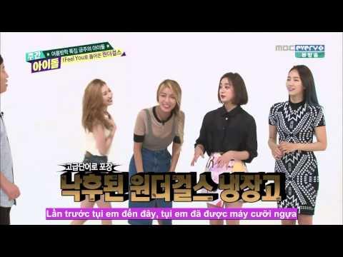 [Vietsub] Weekly Idol Wonder Girls @Ep 211 Part 1/3 (150812)