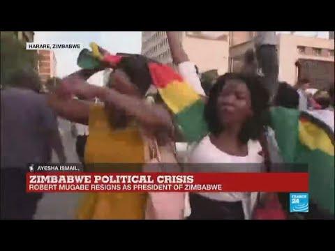 Zimbabwe: Robert Mugabe resigns as President
