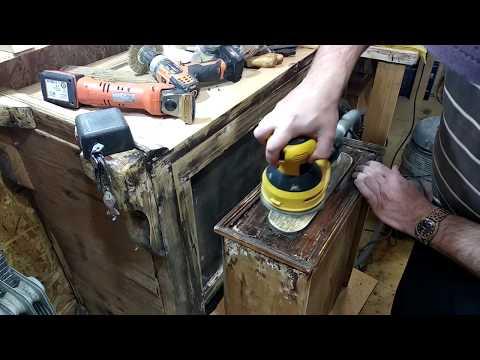Реставрация мебели своими руками видео уроки