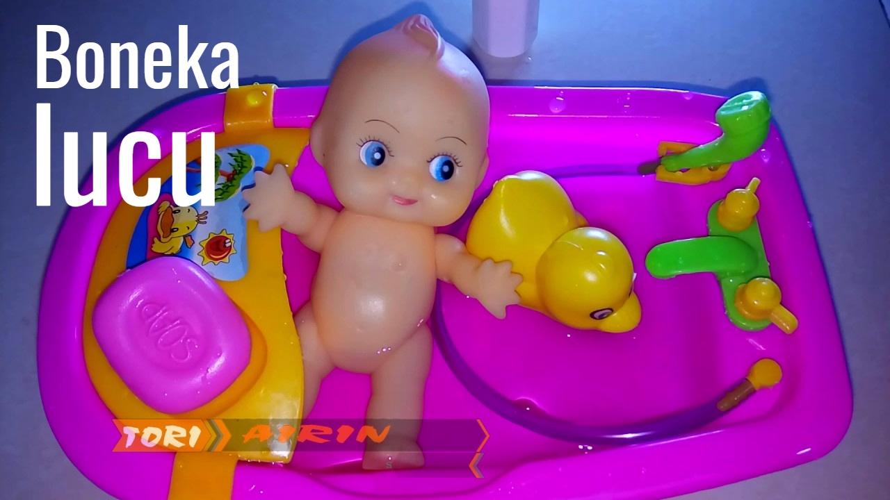 Real Boneka Lucu Mainan Anak Perempuan Memandikan Bayi Bayian - Tori Airin 1cd56da994