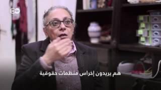 د. ماجدة عدلي بعد إغلاق مركز النديم: النظام المصري يريد أن يكمم الأفواه، و هذا هو مستوى ذكائه