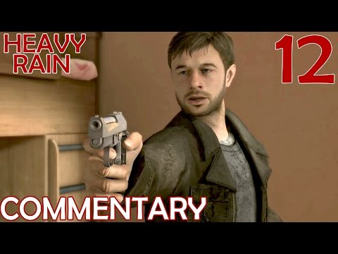 Heavy Rain PS4 Remaster - Commentary Walkthrough Part 12 - The 4th Trial & The Crazy Surgeon