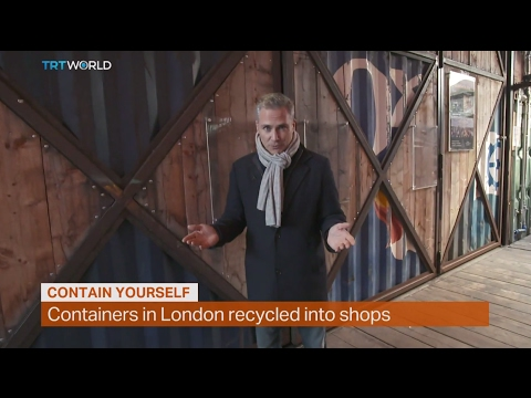 Money Talks: Containers in London recycled into shops