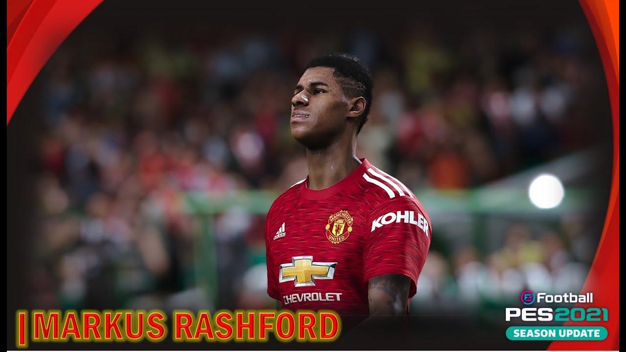 PES 2021 |MANCHESTER UNITED MASTER LEAGUE |MARCUS RASHFORD ...