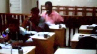 Sessão da Câmara dos vereadores de Lucianópolis de 26/01/2011