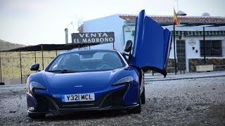 McLaren 650S: First drive in the mountains of southern Spain