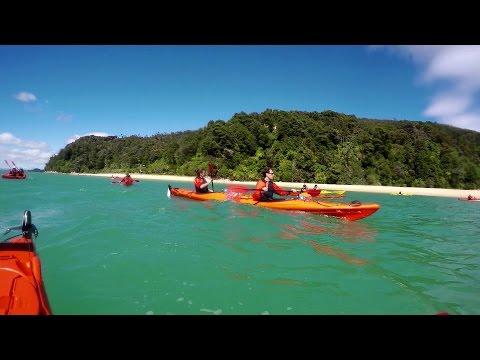 NZ ROADTRIP DAY 26: KAYAKING IN ABEL TASMAN NATIONAL PARK