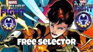 FREE SIX STAR & TIER 2 SELECTORS!!  BEST CHARACTERS TO CHOOSE ?   Marvel Future Fight
