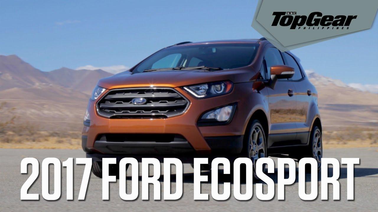 Ford Ecosport Top Gear Philippines