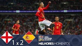 MELHORES MOMENTOS - INGLATERRA 1X2 ESPANHA - UEFA NATIONS LEAGUE (08/09/2018)