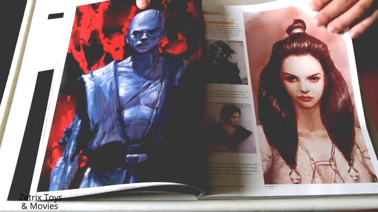 The Art Of Star Wars Episode 3 Revenge Of The Sith Book Youtube