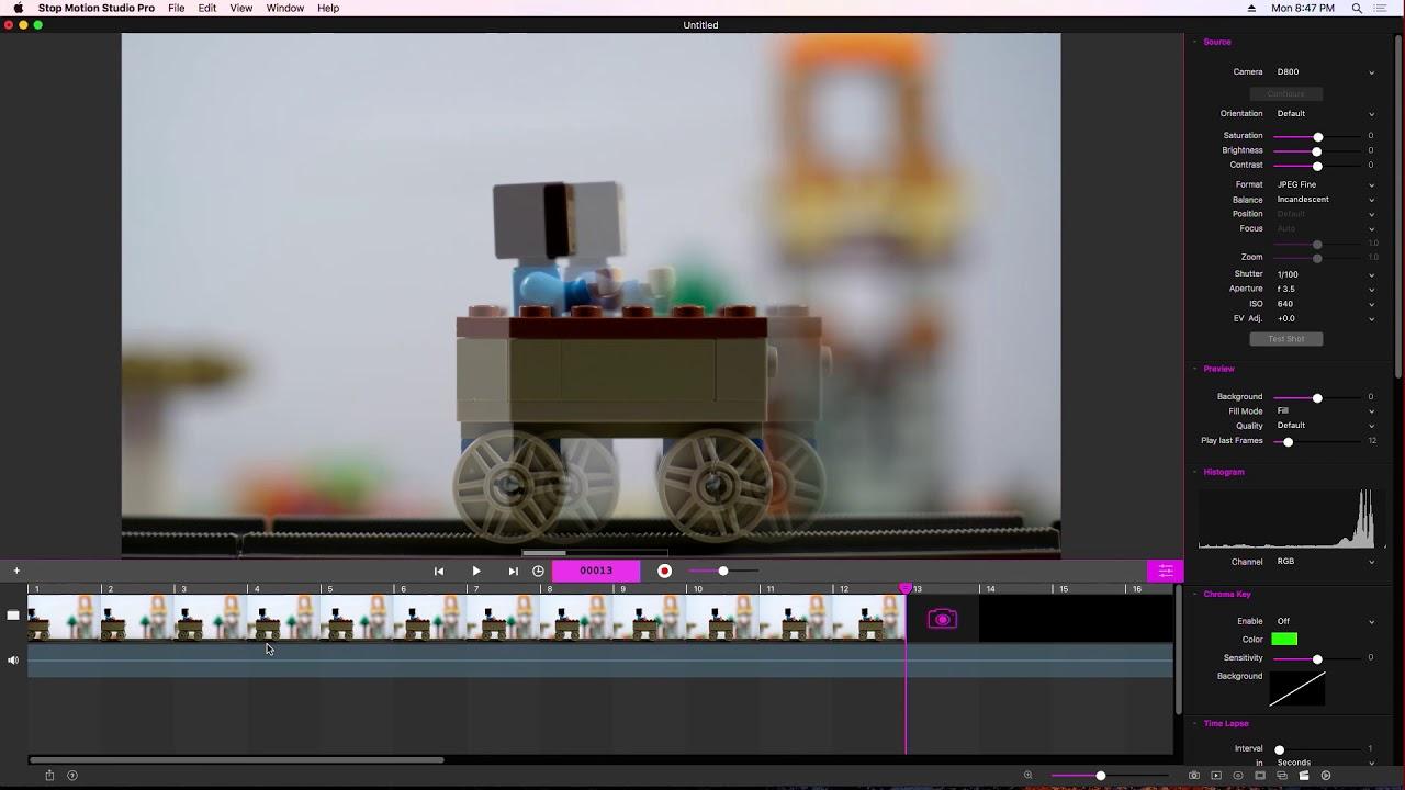 Stop motion studio mac